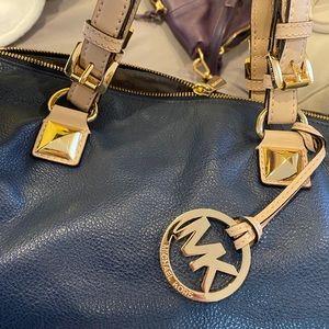 Blue MK satchel/duffel bag